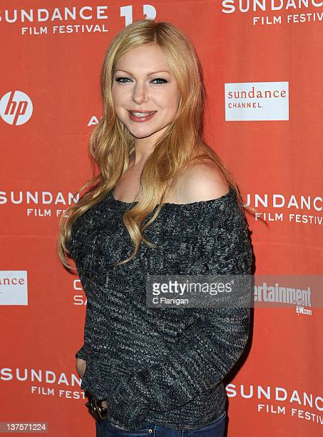 Actress Laura Prepon attends the 'Lay the Favorite' premiere during the 2012 Sundance Film Festival held at Eccles Center Theatre on January 21 2012...