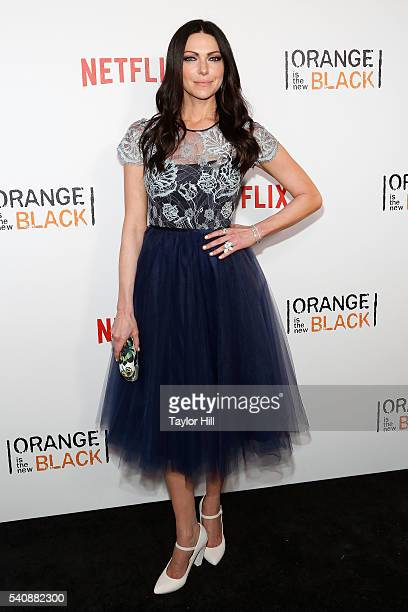 Actress Laura Prepon attends the premiere of 'Orange is the New Black' at SVA Theater on June 16 2016 in New York City