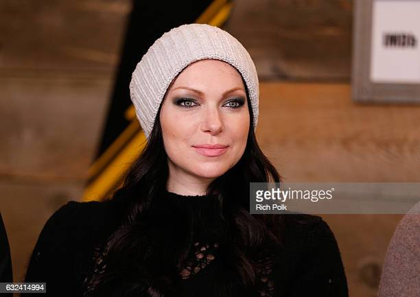 Actress Laura Prepon of 'The Hero' attends The IMDb Studio featuring the Filmmaker Discovery Lounge presented by Amazon Video Direct Day Three during...