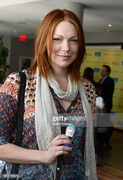 Actress Laura Prepon stops by Crystal Light Liquid as they toast the Emmys at Kari Feinstein's PreEmmy Style Lounge at the Andaz Hotel on September...