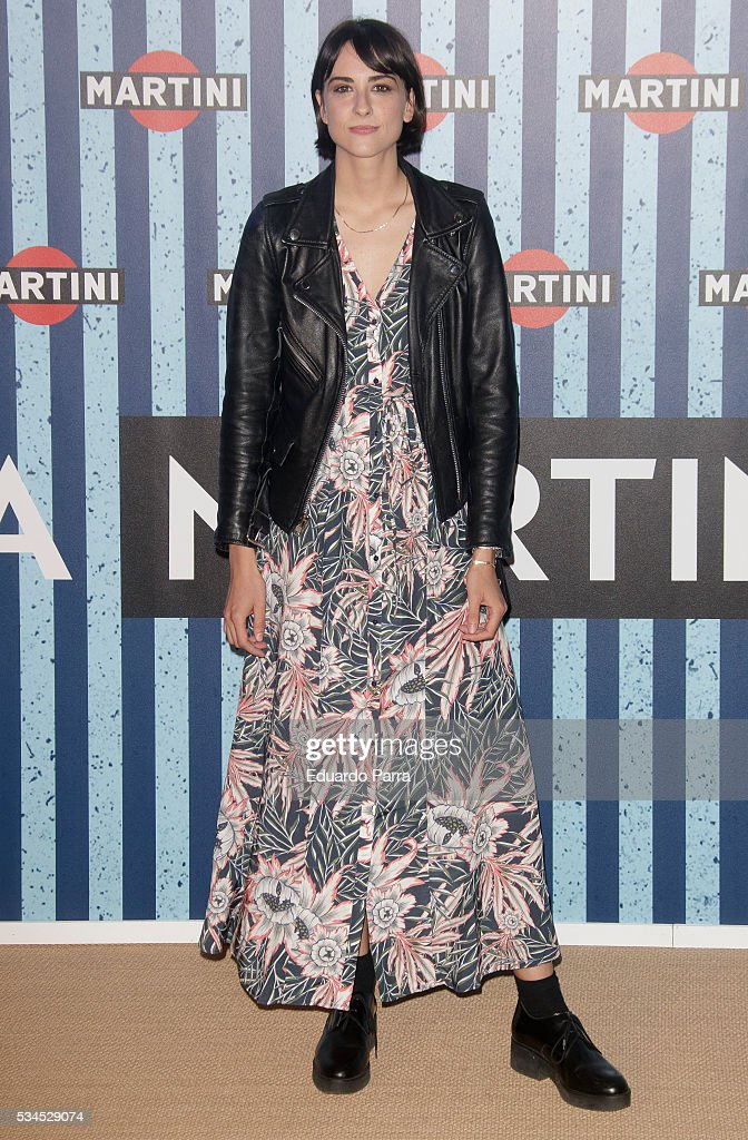 Actress Laura Put attends the Martini Terrace party at Madrid Citi Hall on May 26, 2016 in Madrid, Spain.