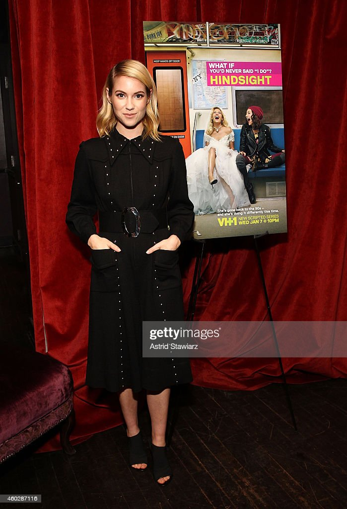 Actress Laura Ramsey attends Entertainment Weekly And VH1 Host A Special Screening Of VH1's New Scripted Series 'Hindsight' on December 10 2014 in...