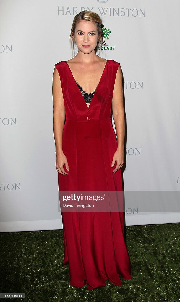 Actress Laura Ramsey attends the 1st Annual Baby2Baby Gala at The BookBindery on November 3, 2012 in Culver City, California.