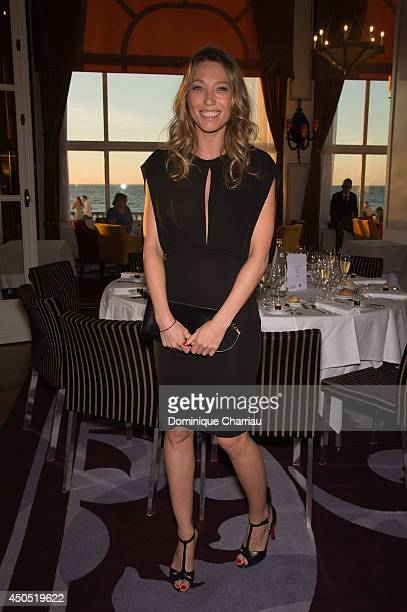 Actress Laura Smet attends the 28th Cabourg Film Festival Opening Ceremany on June 12 2014 in Cabourg France