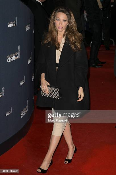 Actress Laura Smet attends the 'CESARS' Film awards at Theatre du Chatelet on February 20 2015 in Paris France