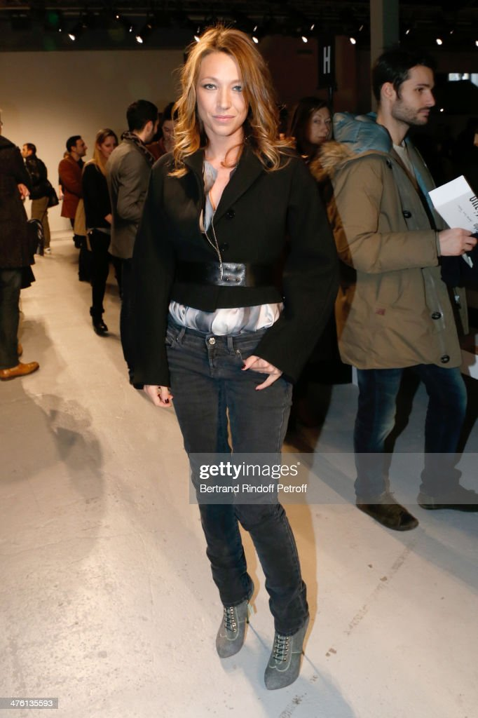 Actress laura Smet attends the John Galliano show as part of the Paris Fashion Week Womenswear Fall/Winter 2014-2015>> on March 2, 2014 in Paris, France.