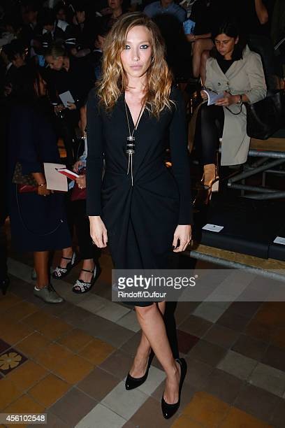 Actress Laura Smet attends the Lanvin show as part of the Paris Fashion Week Womenswear Spring/Summer 2015 on September 25 2014 in Paris France