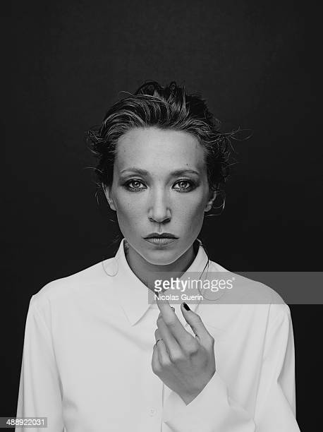 Actress Laura Smet is photographed for Self Assignment on April 7 2014 in Paris France