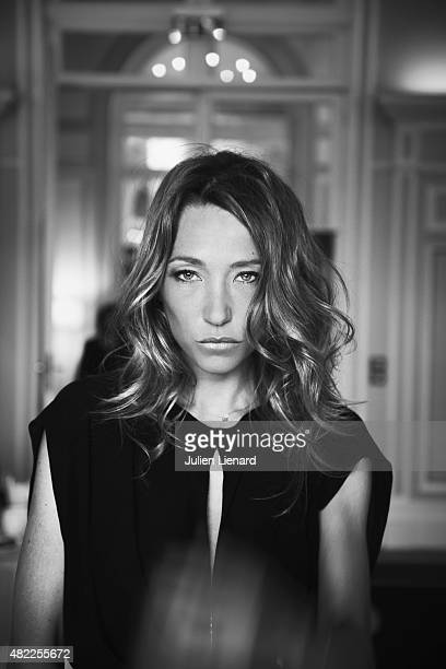 Actress Laura Smet is photographed for Self Assignment on June 14 2014 in Cabourg France
