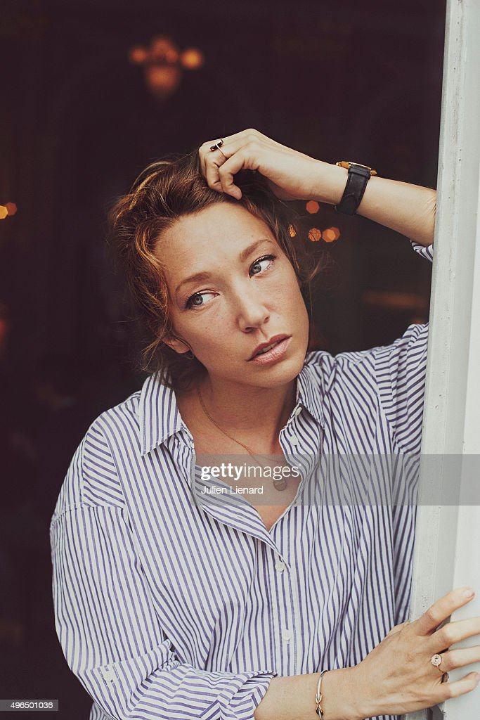 Actress Laura Smet is photographed for Self Assignment on October 5 2015 in Namur Belgium