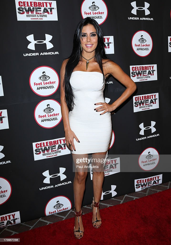 Actress Laura Soares attends the 2013 ESPYS after party on July 17, 2013 in Los Angeles, California.