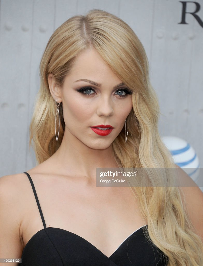 Actress Laura Vandervoort arrives at Spike TV's 'Guys Choice' Awards at Sony Studios on June 7 2014 in Los Angeles California