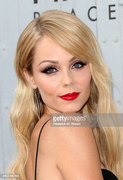Actress Laura Vandervoort attends Spike TV's 'Guys Choice 2014' at Sony Pictures Studios on June 7 2014 in Culver City California