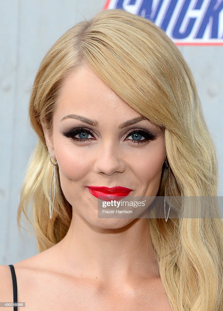 Actress Laura Vandervoort attends Spike TV's 'Guys Choice 2014' at Sony Pictures Studios on June 7, 2014 in Culver City, California.