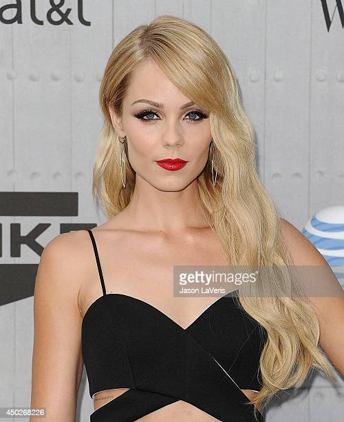 Actress Laura Vandervoort attends Spike TV's 'Guys Choice' Awards at Sony Studios on June 7 2014 in Los Angeles California