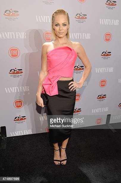 Actress Laura Vandervoort attends Vanity Fair and FIAT celebration of 'Young Hollywood' during Vanity Fair Campaign Hollywood at No Vacancy on...