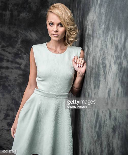 Actress Laura Vandervoort of Bitten poses for a portrait during CTV 2014 Upfront at Sony Centre for the Performing Arts on June 5 2014 in Toronto...