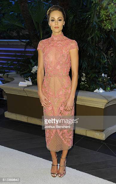 Actress Laura Vandervoot arrives at the 3rd Annual 'An Evening With Canada's Stars' at the Four Seasons Hotel Los Angeles at Beverly Hills on...