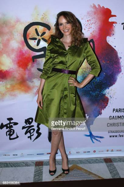 Actress Laura Weissbecker attends the 7th Chinese Film Festival Opening Cocktail at Hotel Meurice on May 15 2017 in Paris France