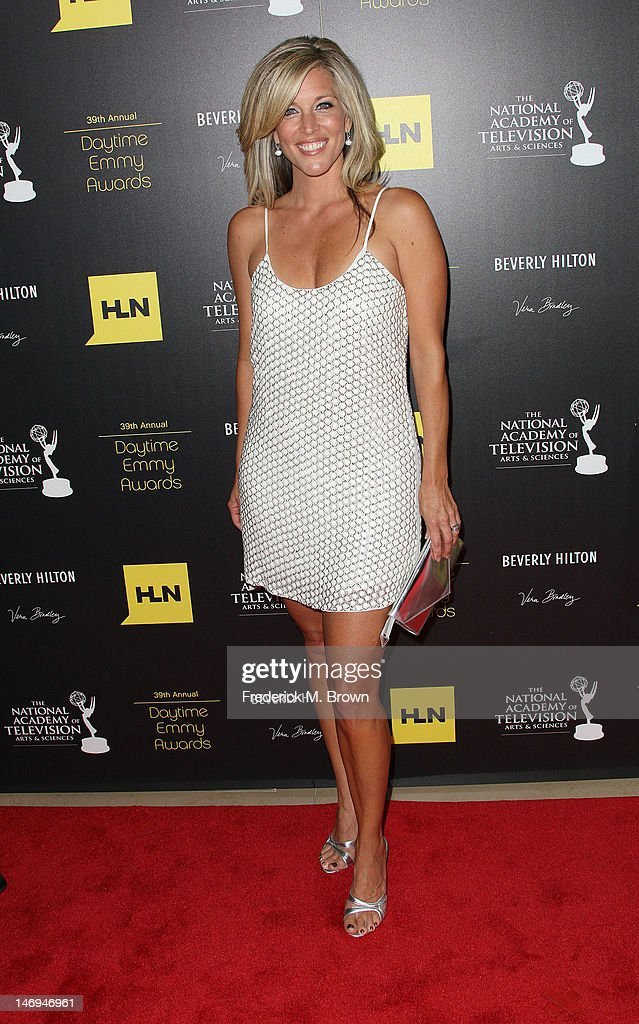 Actress Laura Wright attends the 39th Annual Daytime Entertainment Emmy Awards at The Beverly Hilton Hotel on June 23, 2012 in Beverly Hills, California.
