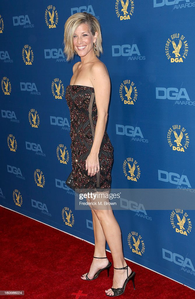 Actress Laura Wright attends the 65th Annual Directors Guild Of America Awards at Ray Dolby Ballroom at Hollywood & Highland on February 2, 2013 in Los Angeles, California.