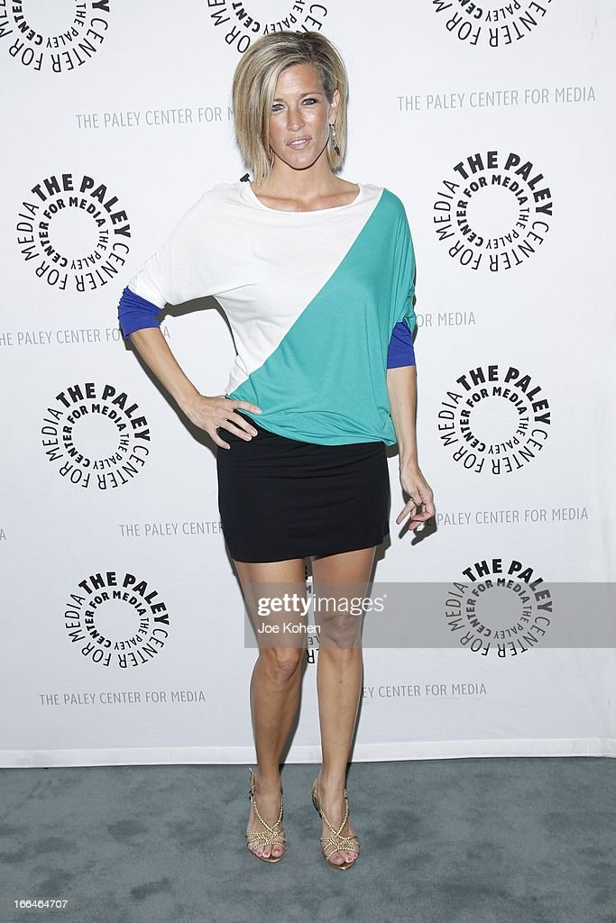 Actress Laura Wright Carly attends 'General Hospital celebrating 50 years and looking forward' at The Paley Center for Media on April 12, 2013 in Beverly Hills, California.