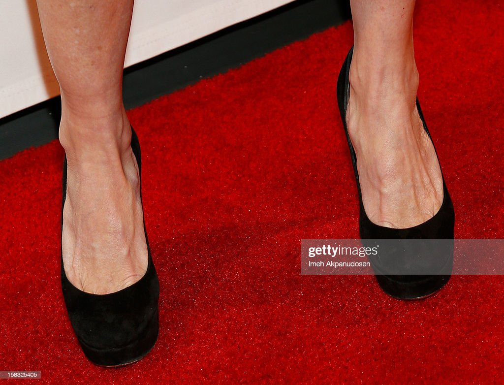 Actress Lauralee Bell (shoe detail) attends the 14th Annual Women's Image Network Awards at Paramount Theater on the Paramount Studios lot on December 12, 2012 in Hollywood, California.