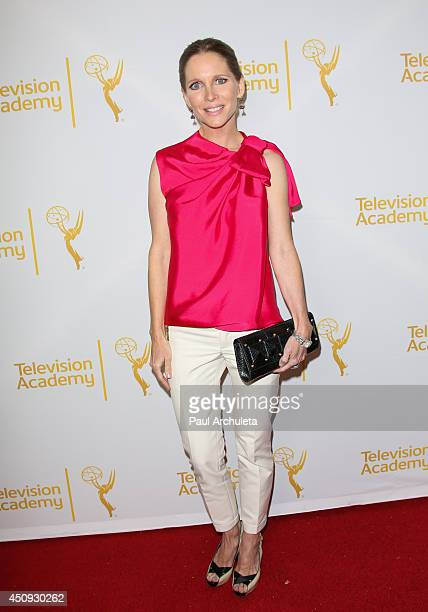 Actress Lauralee Bell attends the Daytime Emmy NomineActore Reception at The London West Hollywood on June 19 2014 in West Hollywood California