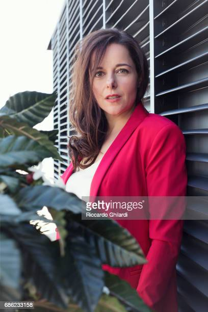 Actress Laure Calamy is photographed for Self Assignment on May 20 2017 in Cannes France
