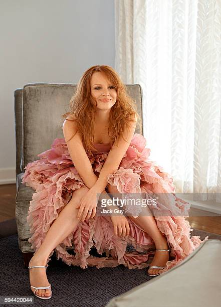 Actress Lauren Ambrose is photographed for Red Magazine UK in 2004 in Los Angeles California
