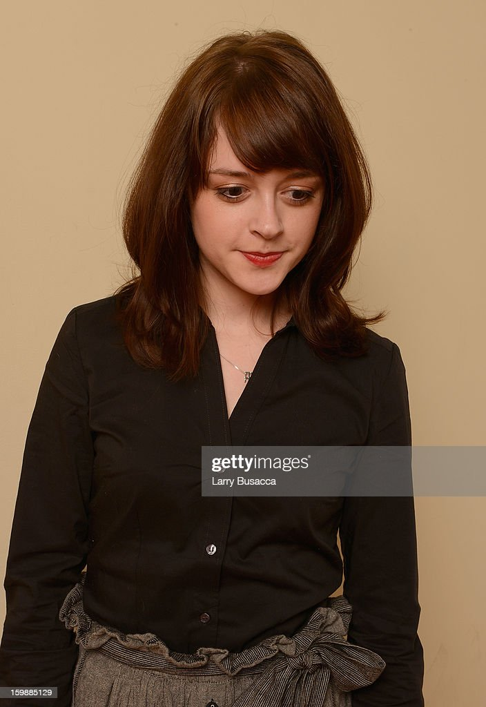 Actress Lauren Ashley Carter poses for a portrait during the 2013 Sundance Film Festival at the Getty Images Portrait Studio at Village at the Lift on January 22, 2013 in Park City, Utah.