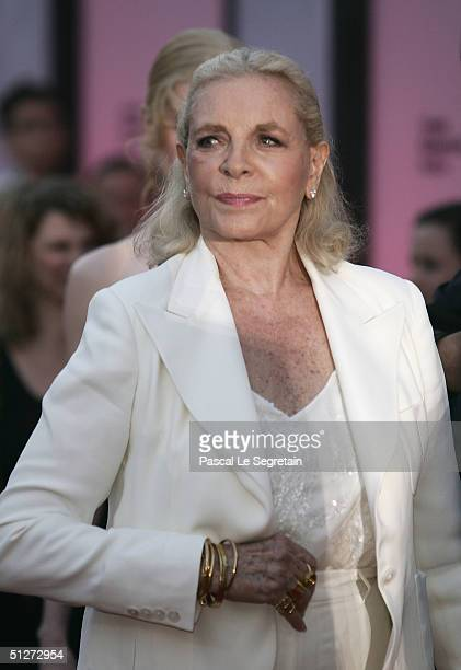 Actress Lauren Bacall attends the 'Birth' Premiere at the 61st Venice Film Festival on September 8 2004 in Venice Italy