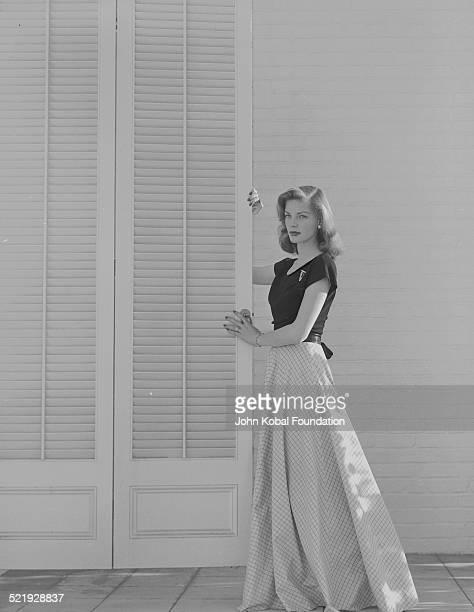 Actress Lauren Bacall in a promotional shot for Warner Bros Studios circa 19401950