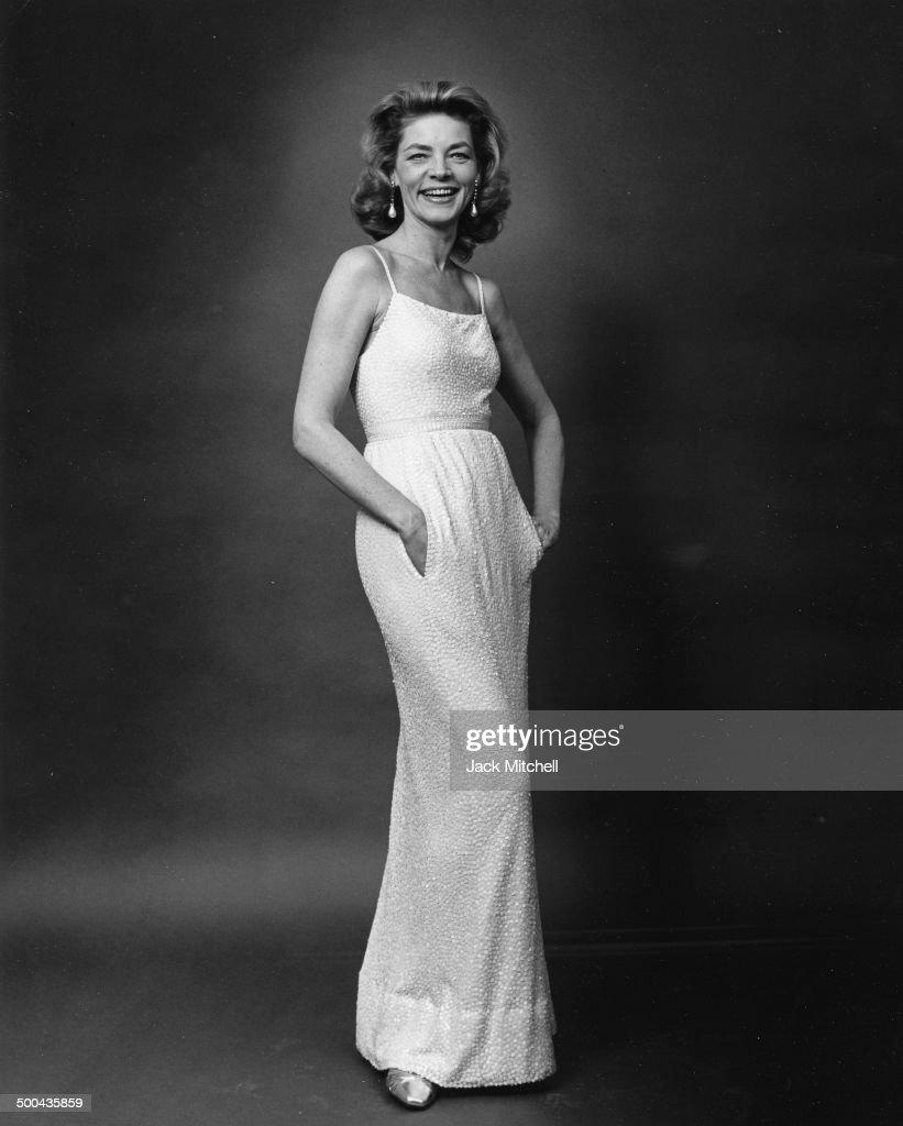 Actress Lauren Bacall photographed in 1966