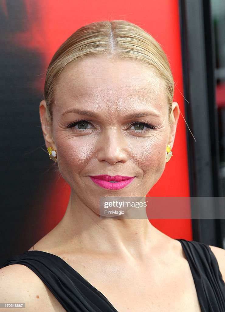 Actress Lauren Bowles attends HBO's 'True Blood' season 6 premiere at ArcLight Cinemas Cinerama Dome on June 11, 2013 in Hollywood, California.