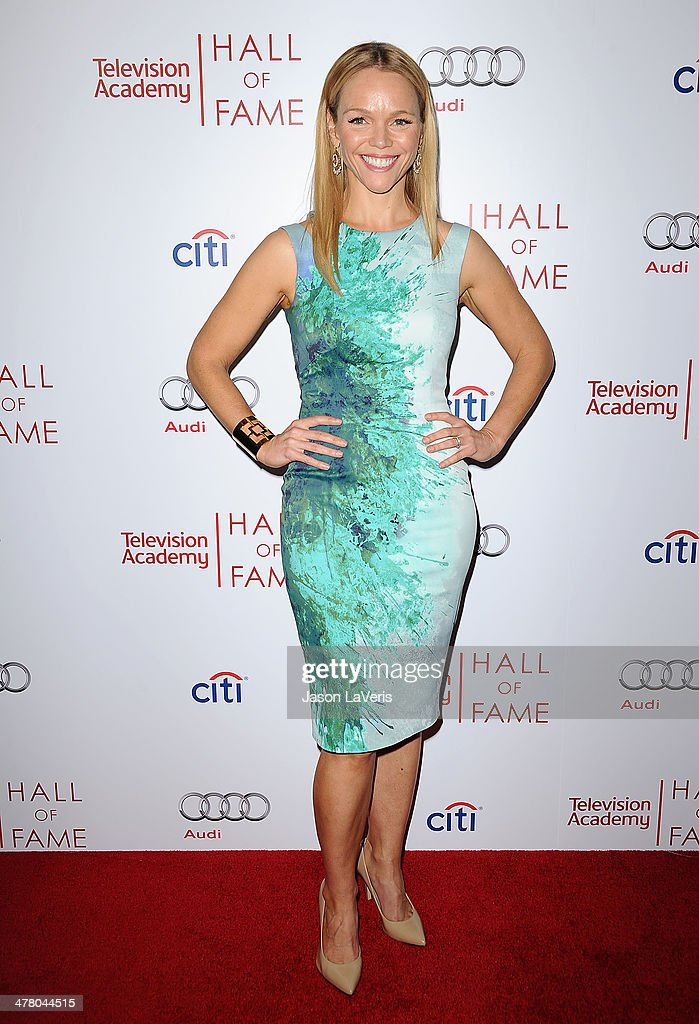 Actress <a gi-track='captionPersonalityLinkClicked' href=/galleries/search?phrase=Lauren+Bowles&family=editorial&specificpeople=3062395 ng-click='$event.stopPropagation()'>Lauren Bowles</a> attends the Television Academy's 23rd Hall of Fame induction gala at Regent Beverly Wilshire Hotel on March 11, 2014 in Beverly Hills, California.