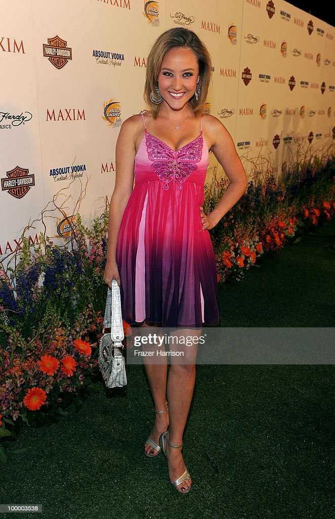 Actress Lauren C. Mayhew arrives at the 11th annual Maxim Hot 100 Party with Harley-Davidson, ABSOLUT VODKA, Ed Hardy Fragrances, and ROGAINE held at Paramount Studios on May 19, 2010 in Los Angeles, California.