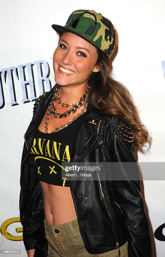 Actress <a gi-track='captionPersonalityLinkClicked' href=/galleries/search?phrase=Lauren+C.+Mayhew&family=editorial&specificpeople=221396 ng-click='$event.stopPropagation()'>Lauren C. Mayhew</a> arrives for Pre-Grammy Celebration Party For Trevor Guthrie held at Acabar on January 25, 2014 in Los Angeles, California.