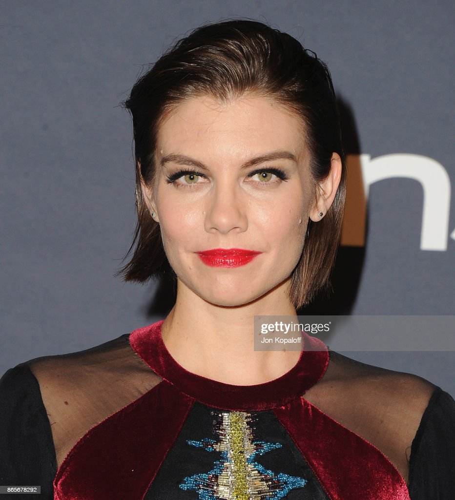 Actress Lauren Cohan arrives at the 3rd Annual InStyle Awards at The Getty Center on October 23, 2017 in Los Angeles, California.