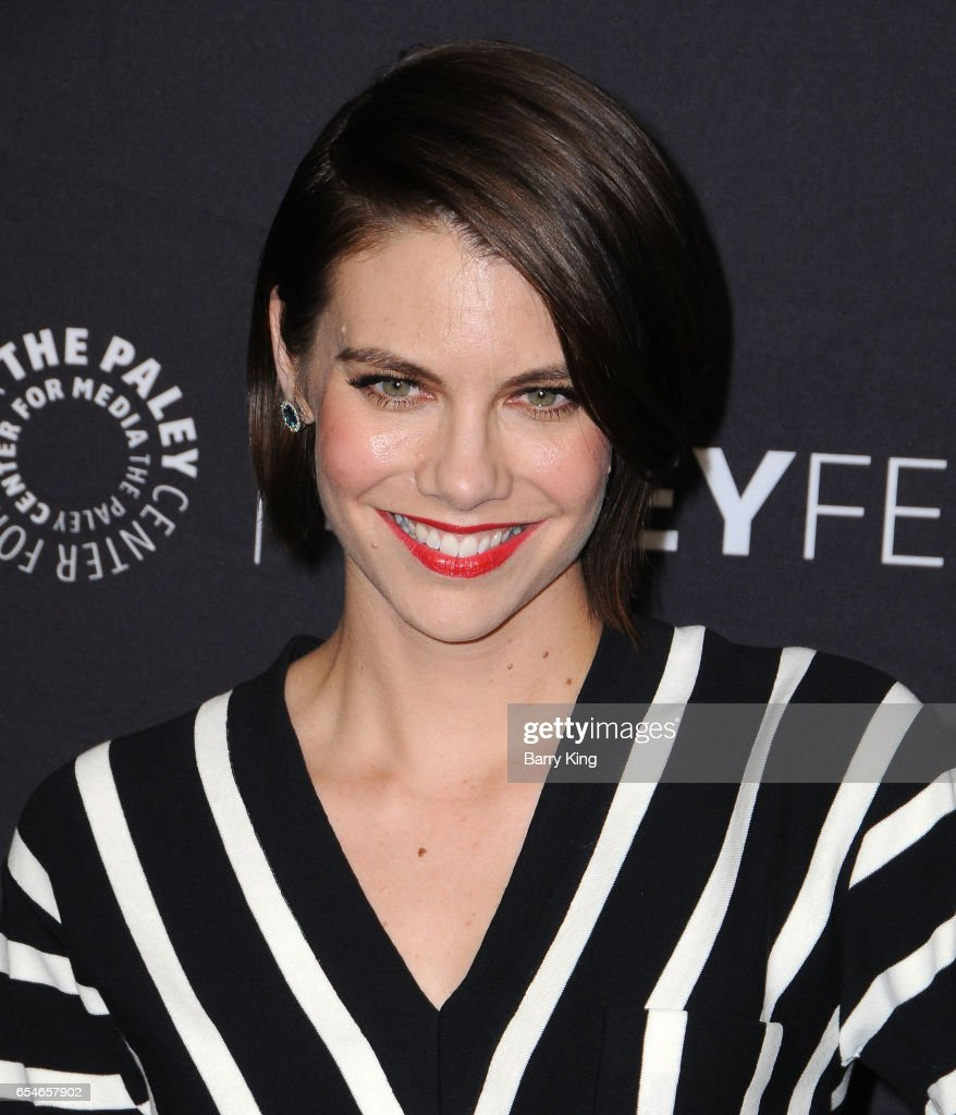 Actress Lauren Cohan arrives at the Paley Center For Media's 34th Annual PaleyFest Los Angeles opening night presentation 'The Walking Dead' at Dolby Theatre on March 17, 2017 in Hollywood, California.
