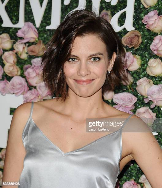 Actress Lauren Cohan attends Max Mara and Vanity Fair's celebration of Women In Film's Face of the Future Award recipient Zoey Deutch at Chateau...