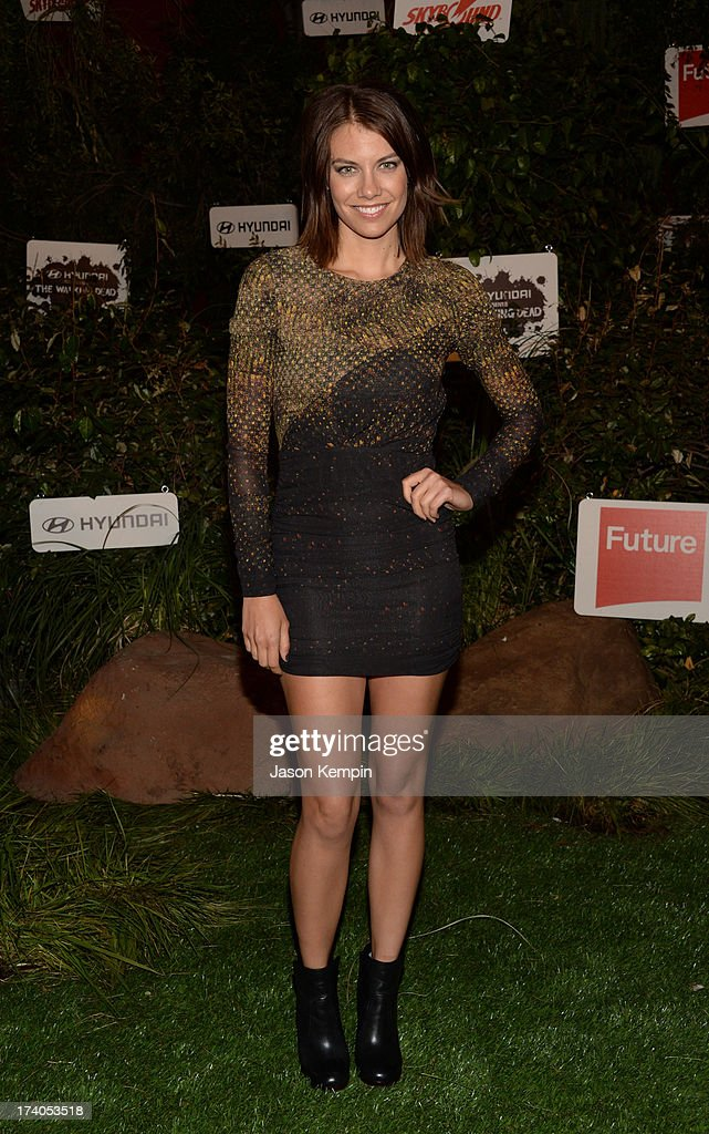 Actress <a gi-track='captionPersonalityLinkClicked' href=/galleries/search?phrase=Lauren+Cohan&family=editorial&specificpeople=4421688 ng-click='$event.stopPropagation()'>Lauren Cohan</a> attends 'The Walking Dead' 10th Anniversary Celebration Event during Comic-Con 2013 on July 19, 2013 in San Diego, California.