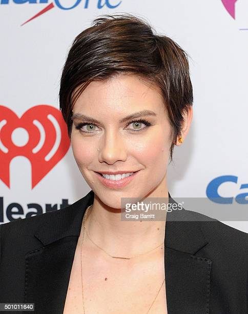 Actress Lauren Cohan attends Z100's Jingle Ball 2015 at Madison Square Garden on December 11 2015 in New York City