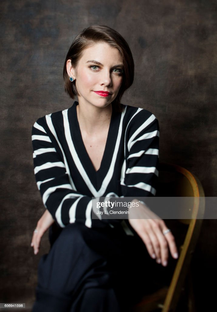 Actress Lauren Cohan is photographed from AMC's 'The Walking Dead is photographed during Paley Fest for Los Angeles Times on March 17, 2017 in Los Angeles, California. PUBLISHED IMAGE.