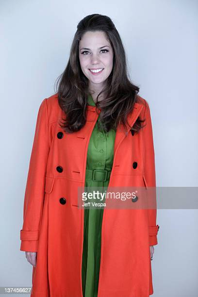 Actress Lauren Coleman poses for a portrait during the 2012 Sundance Film Festival at the WireImage Portrait Studio at TMobile Village at the Lift on...