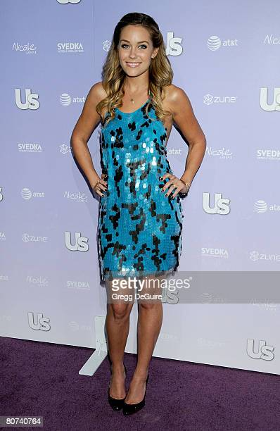 Actress Lauren Conrad arrives at the US Weekly Hot Hollywood 2008 on April 17 2008 at Beso Resturant in Los Angeles California