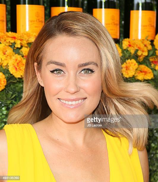 Actress Lauren Conrad attends the SixthAnnual Veuve Clicquot Polo Classic at Will Rogers State Historic Park on October 17 2015 in Pacific Palisades...