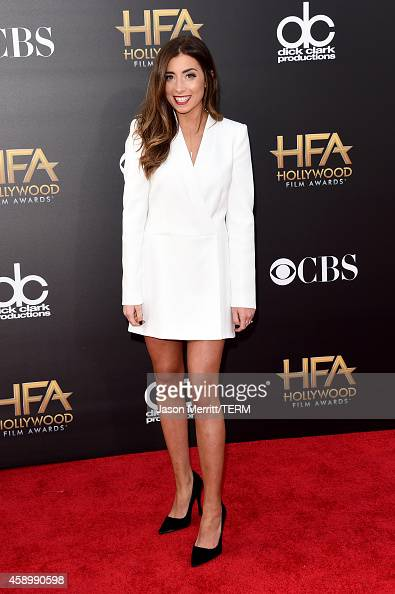 Actress Lauren Elizabeth attends the 18th Annual Hollywood Film Awards at The Palladium on November 14 2014 in Hollywood California