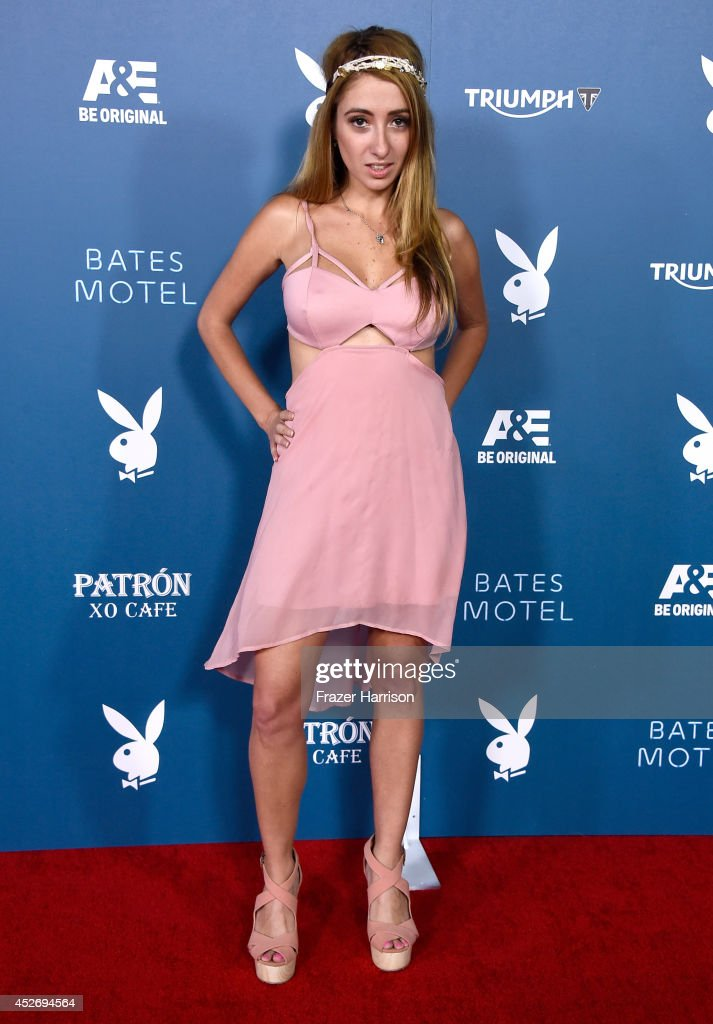 Actress Lauren Francesca attends Playboy and A&E 'Bates Motel' Event during Comic-Con International 2014 on July 25, 2014 in San Diego, California.