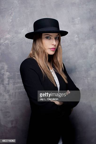 Actress Lauren German of 'Lucifer' poses for a portraits at ComicCon International 2015 for Los Angeles Times on July 9 2015 in San Diego California...